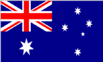 Australia Large Country Flag - 3' x 2'.